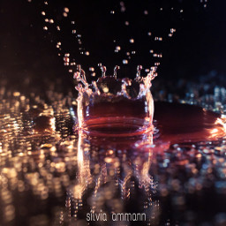 freetoedit photography highspeed waterdrops colorful