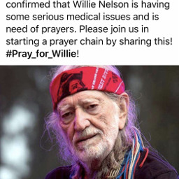 freetoedit pray willienelson ill medical