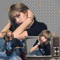 freetoedit lisa blackpink stars lalisamanoban