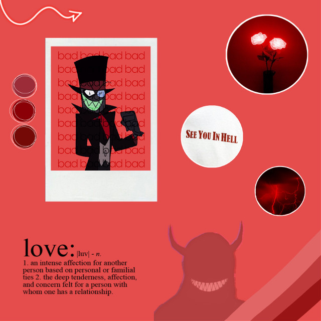 It`s the Hat Man! #villainousedits  #villainous  #blackhat #blackandred  #demon #evil #badguy  #freetoedit