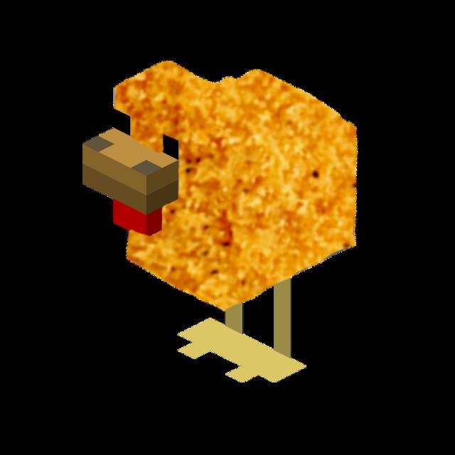 #minecraft #chicken #chickennugget #cursed