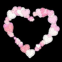 frame moldura decoration coração freetoedit
