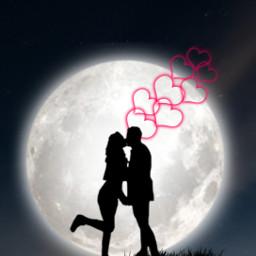 freetoedit love couple silouette silhouette