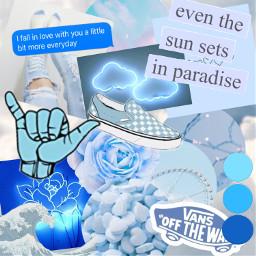 freetoedit blue blueaesthetic sky bluecircle