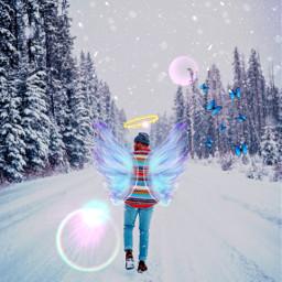 freetoedit ircsnowyforest snowyforest