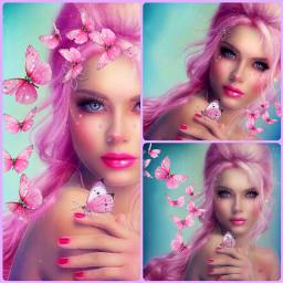ccpinkaesthetic pinkaesthetic freetoedit pink art