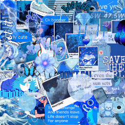 blue blueandwhite complex background givemecredit freetoedit