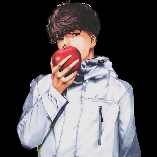 #deathnote #light #l #L #yagami #ryuk #shinigami #death #note #yagamilight #anime #manga #shounen #Minoru #Tanaka #MinoruTanaka #sticker #stickers #stikers #stiker #minorutanaka