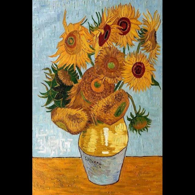 "#vangogh #vangoghinspired #vangoghstickerremix #vincentvangogh #art #arte #sunflower #sunflowers #girasoles #girasol #girasolesdevangoh #amarillo ""flores #yellow #pinturas #renaissance #renacimiento"