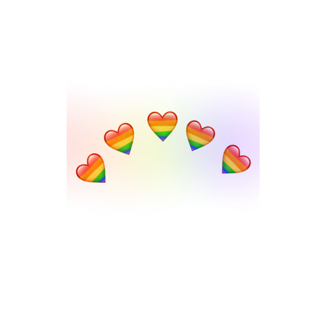 #лгбт #радуга #сердечки