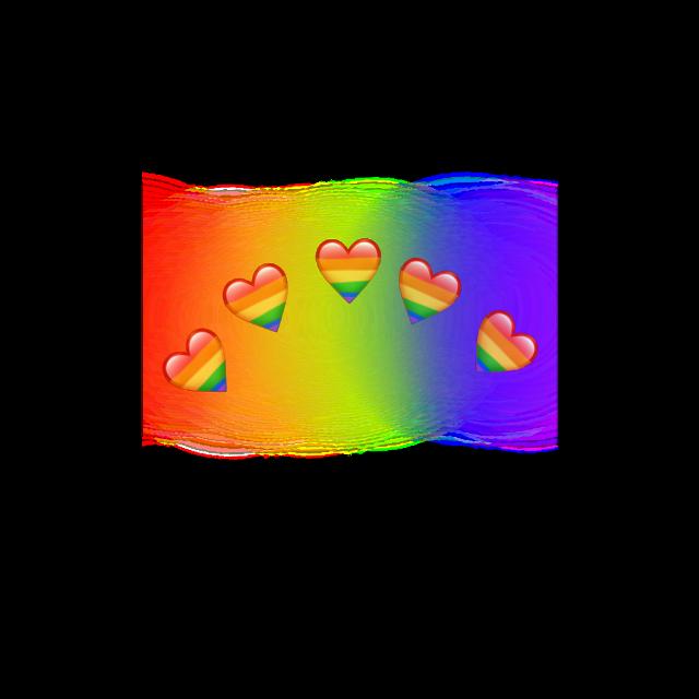 #лгбт #радуга #сердечки_над_головой