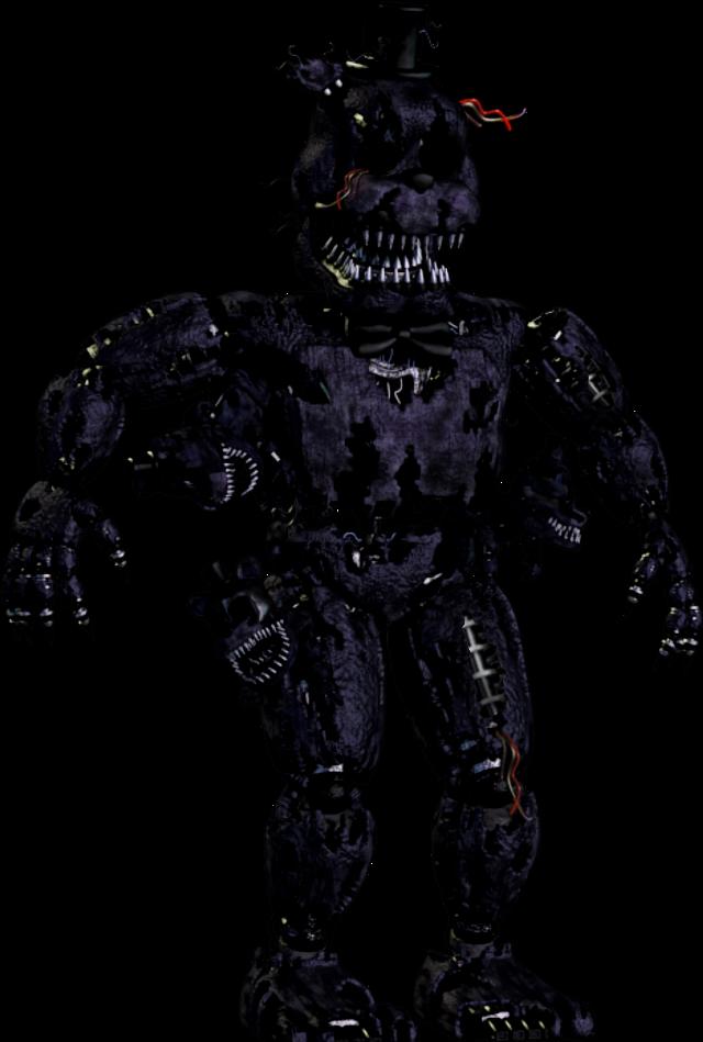 Withered Shadow Nightmare Freddy #fnaf #fivenightsatfreddys
