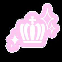 #オタク #プリクラ #落書き #量産型オタク #量産型 #ピンク #ジャニヲタ #かわいい #ピンク #王冠 #ティアラ #freetoedit