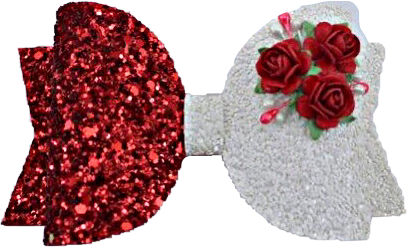 #bow #ribbon #flowers #glitter #sparkle #red #white #roses #bowtie #tie #freetoedit