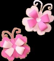 diy crafts pink paper butterflies freetoedit