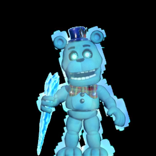 #fnafworld Freddy frostbear