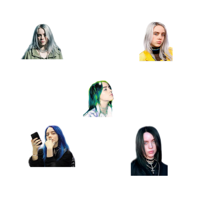 #billieeilish #stickerpack #transparent #png