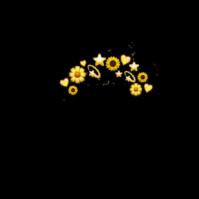 #yellow #yellowaesthetic #emoji #freetoedit #givecredits #heart #flowers #sunflower #stars