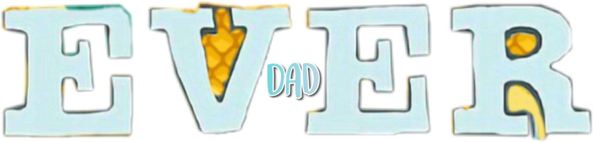 #Dad sticker