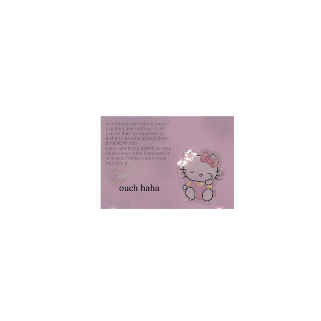 #kitty #hellokitty #ouch #messy #tiny #cards #pink