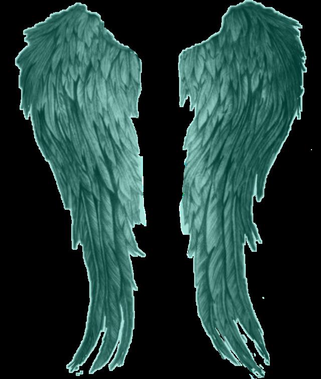 #green #angelwings #sticker #freetoedit