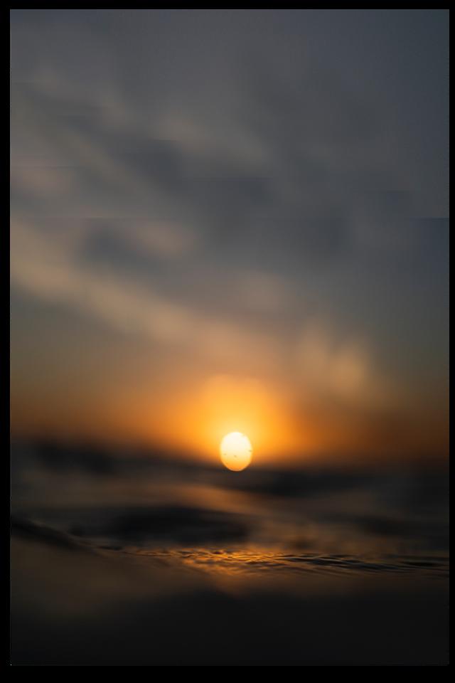 #landscape #backgound #wallpaper #sticker #stickers #nature #sunset #sun #fog #foggy #clouds #ocean #space #frame #tumblr