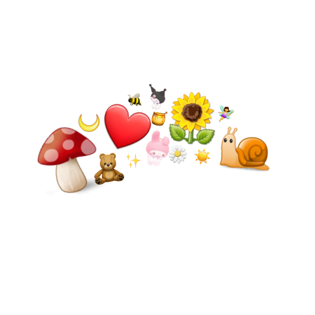 #cottagecore #emojicrown #heartcrown #honeycore #grandmacore