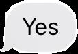 #text #stickers #message #tiktok #yes  #freetoedit #imessage