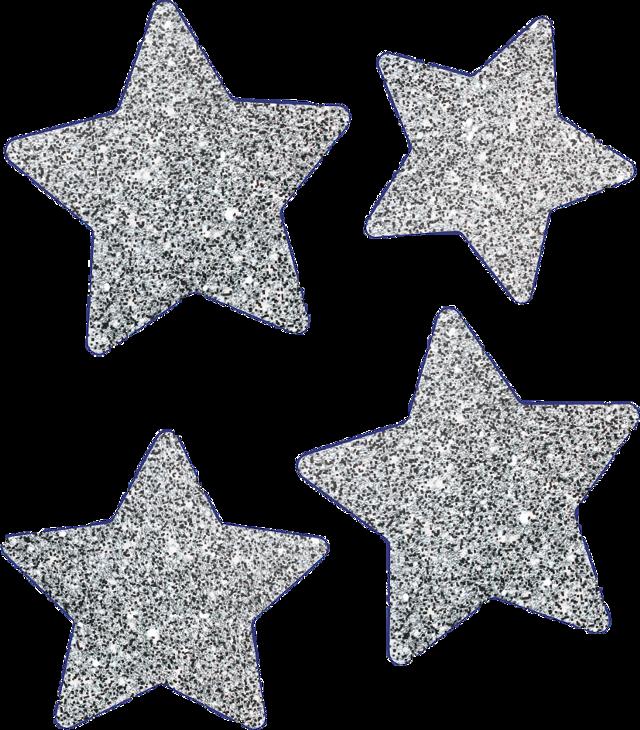 #stars #silverglitter #glitter #freetoedit