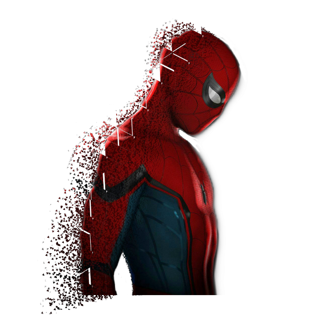 Spider man #spiderman #thanossnaped #spidermanhomecoming #spidermandisapering #spidermanremix