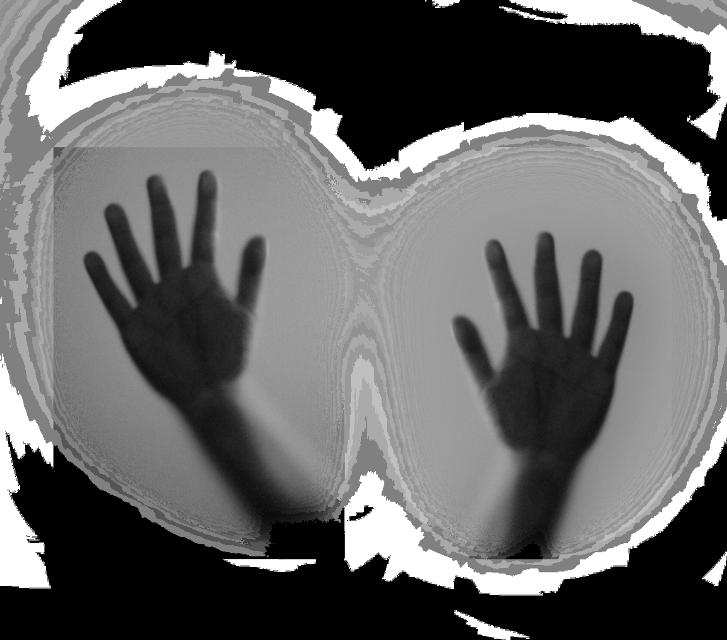 Thanks for the original fte photo✌️💓 #hands #shadows #silhouette #creepy #weird