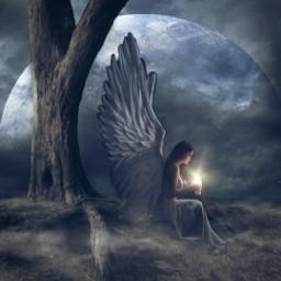 freetoedit fantasy magical angel dream