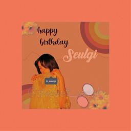 freetoedit happybirthday happybirthdayseulgi seulgi seulgiredvelvet
