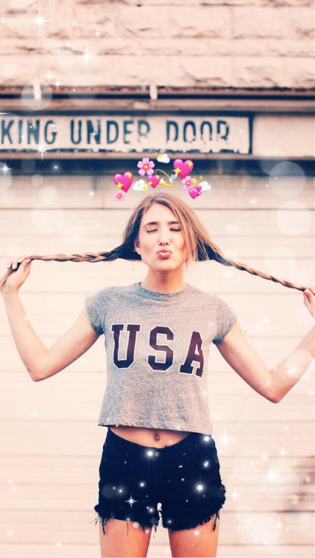 #freetoedit #heartcrown #braidsfordays #happy