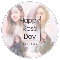 blackpink rosé parkcheayoung blink happybirthday freetoedit