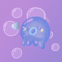 たこチュー fanart octopus cute toy