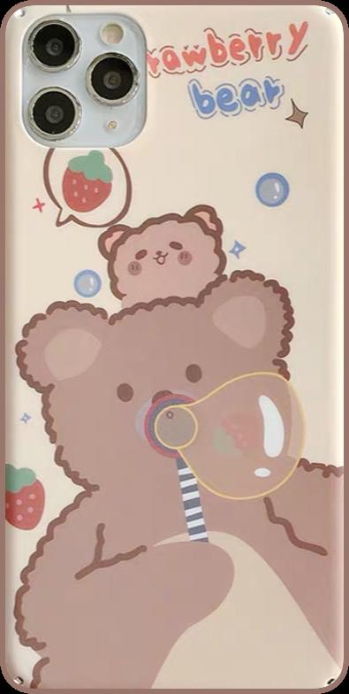 #手机壳#小熊#interesting #freetoedit