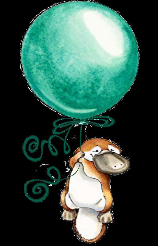 #platypus #balloon #freetoedit