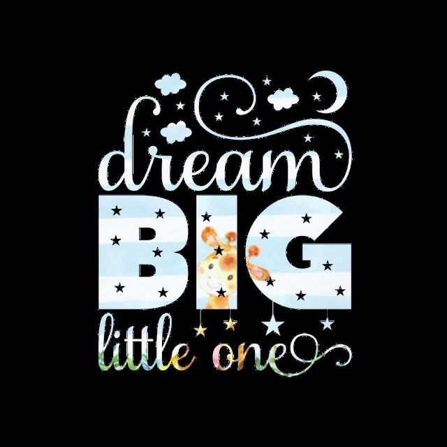 #quote #saying #baby #boy #dream #dreambig #little #dreambiglittleone #giraffe #babyanimals #experimenting #babyshower #png