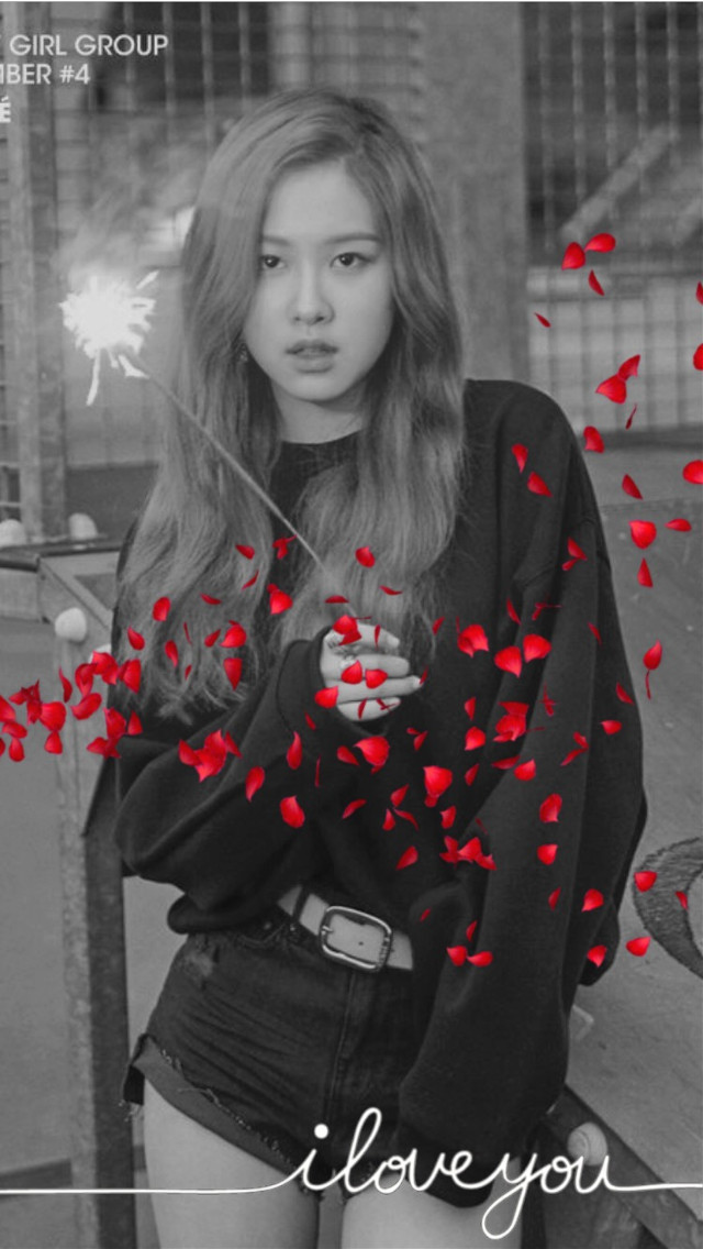 Rosè...this is honestly kinda cute....should I make   another blackpink edit #freetoedit