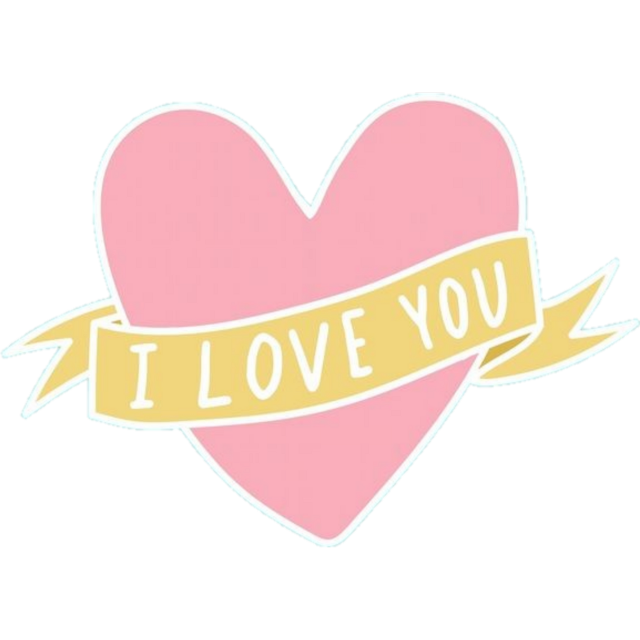 #iloveyou #stickers #valentinesday #valentine #happy #cute #pink #foryou #you #love #heart