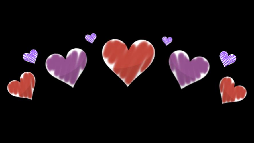#tumblr #sticker #stickers #heart #hearts #red #purple #love #crown #tiara #valentinesday #valintine #freetoedit