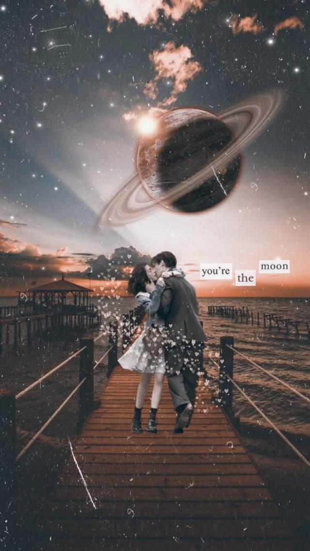 #freetoedit #love #couple #planet