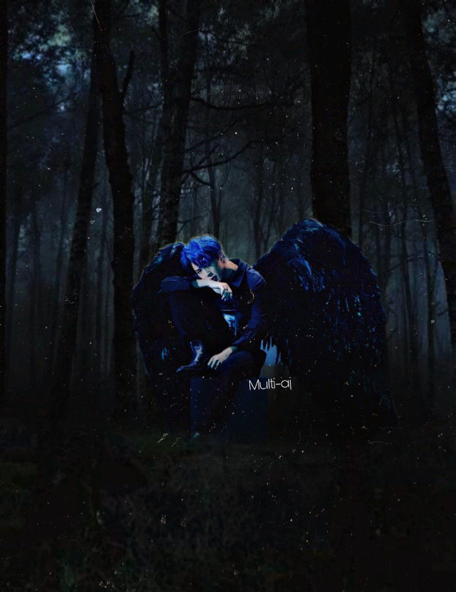 """~The forest Keeper~  Tags @b_denbrough  @misery-loves-me @mychemicaltrash26 @mymotionlessromance @scfteilish  @thnks_fr_thvnm  @all-the-fandoms-394  @jkhey-y  @pennywiseisourking @multisweet_ @ayyedallas @edgybellabandobsess @niqhtmaare  @lexi_19 @abishasparkle  @bangtan_tinistas  @smol_loki_uwu @tropicalalohatb @cloudy_niche @fayth23 @rainqrcps @limelightxbutera @esherman448  @taekooknochu  @youvebeenuninvited  Comment """"✨"""" to be added to the list Comment """"🖤"""" to be removed    #taehyung  #bts  #bangtanboys  #mapofthesoul7  #freetoedit"""