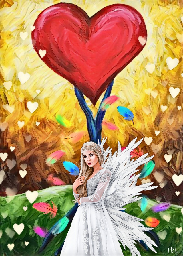 #freetoedit #valentinesday #colorful #editedbyme #madewithpicsart #magiceffect #stickers #artfullyadded #picsartstickers #picsart #artsy #artwork @picsart #myedit #women #heart