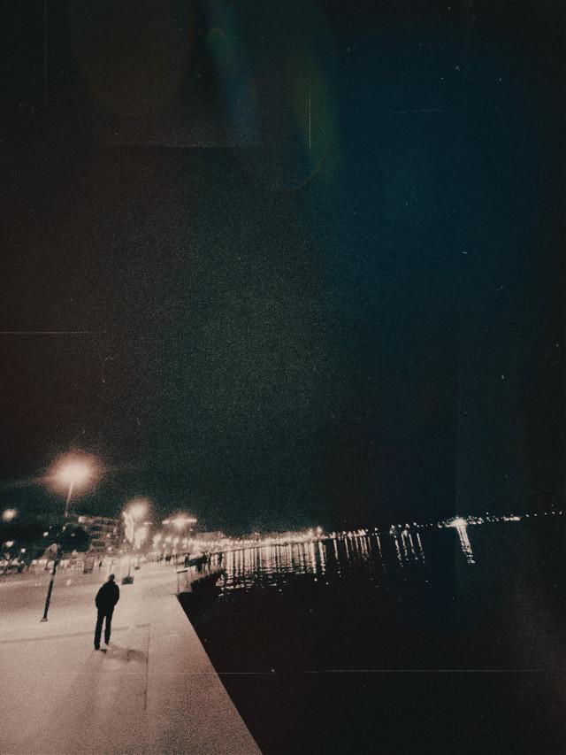#madewithpicsart #street #night #dark