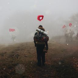 freetoedit people hearts travel love