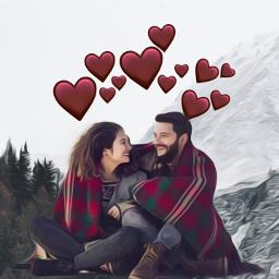 freetoedit heart heartcrown crown winter echeartcrowns