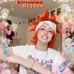 freetoedit myheroacademia kirishima cosplay eijirokirishima