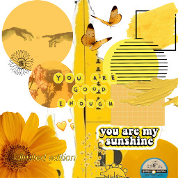 freetoedit yellow flower quote sunshine heartcrowns